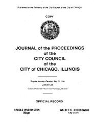 Communications From City Officers - Chicago City Council ...