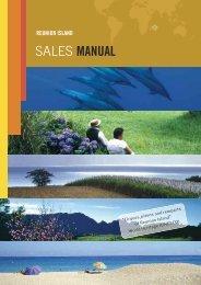 Reunion Sales Manual