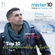 mister10, Top 10 Gay Travel Tips - Winter '17