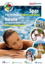 Spas with the Flavour of Moravia and Silesia