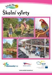 Školní výlety Střední Morava