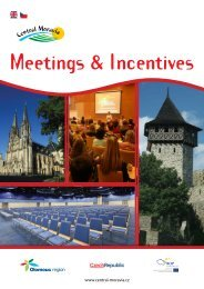 Meetings and Incentives Central Moravia