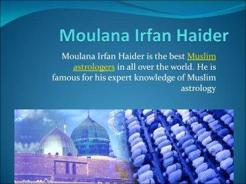 Muslim Astrologer - Moulana Irfan Haider