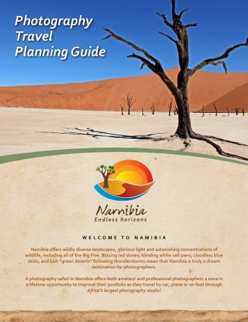 Namibia Photography Travel Planning Guide