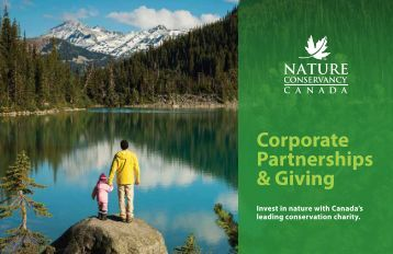Nature Conservancy of Canada: Corporate Partnerships & Giving