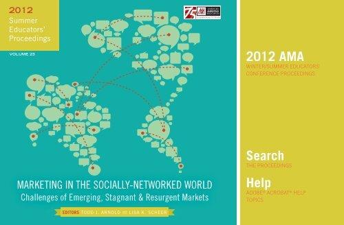 2012 Ama Educators American Marketing Association