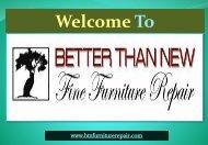 Furniture Restoration Mesa| Better Than New