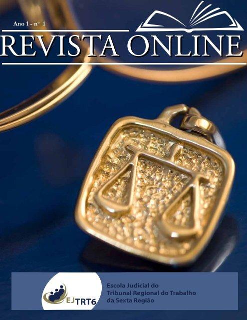 Revista Online do TRT6 Nº 01