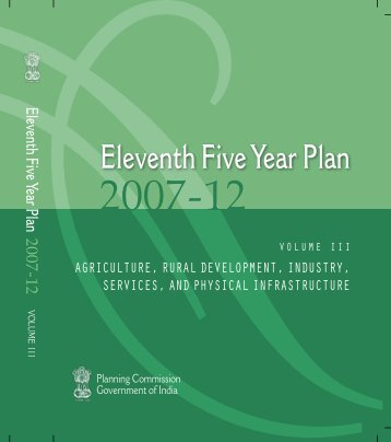 Eleventh Five Year Plan - of Planning Commission