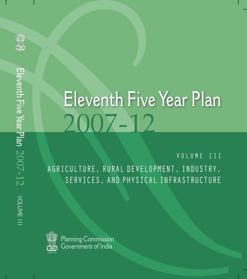 Eleventh Five Year Plan Of Planning Commission