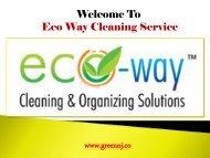 Cleaning Service Montclair NJ