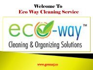 Cleaning Service Montclair NJ