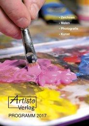 Artisto Verlag Katalog 2017
