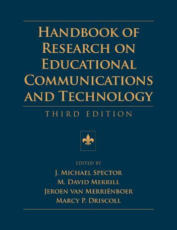 Handbook of Research on Educational Communications and ...