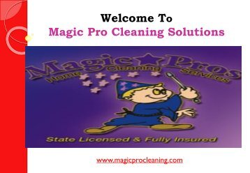 Carpet Cleaners San Clemente| Magic Pro Cleaning Solutions