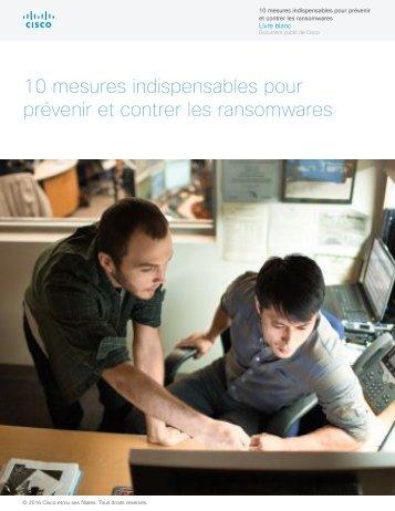 10 mesures indispensables pour prévenir et contrer les ransomwares