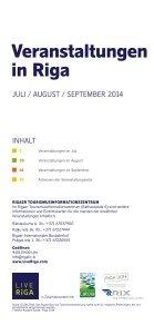 Events in Riga 7-9/2014 - Seite 3