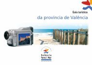 Tourist guide of the province of Valencia