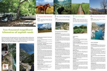 Panoramic Roads around Montenegro