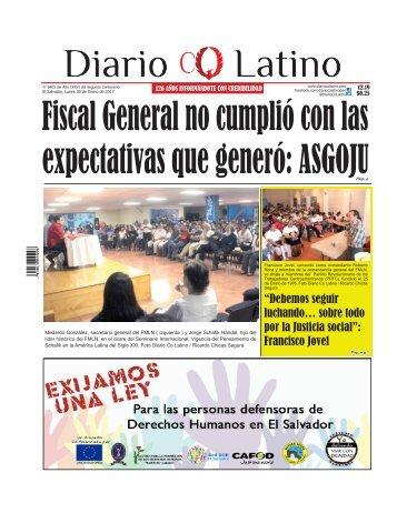 Edición 30 de Enero de 2017