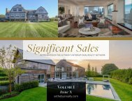 Significant Sales