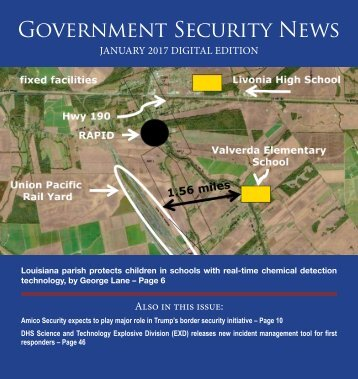 Government Security News  January 2017 Digital Edition