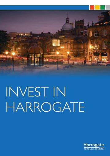 INVEST IN HARROGATE