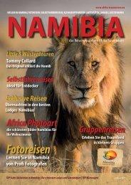 Namibia das Reisemagazin von Afrika Traummreisen