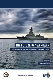 THE FUTURE OF SEA POWER