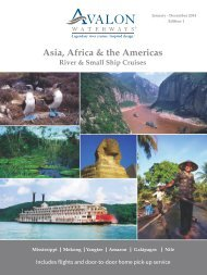 River Cruises Asia, Africa & the Americas