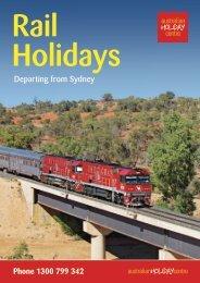 Rail Holidays from Sydney