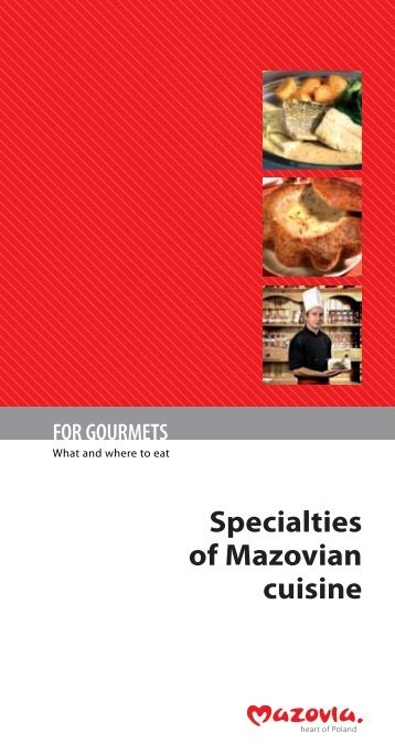 Specialities of Mazovian Cuisine