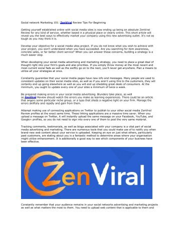 ZenViral Review And Bonus