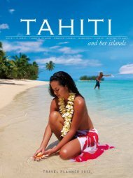 Tahiti and her islands Travel Planner