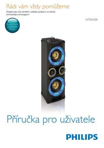 Philips Minichaîne hi-fi - Mode d'emploi - CES