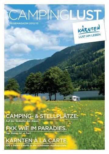 Campinglust Reisemagazin 2012/13