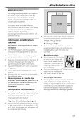 Philips Microchaîne DVD - Mode d'emploi - SWE - Page 7