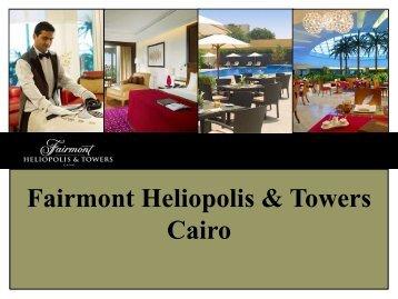 Heliopolis & Towers Presentation
