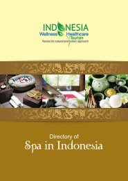 Directory of Spa in Indonesia