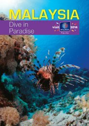 Malaysia Dive in Paradies