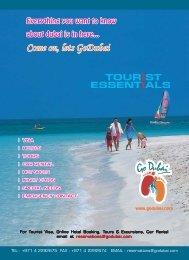 Go Dubai - Tourist Essentials