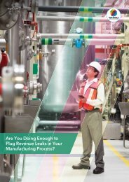 Are You Doing Enough to Plug Revenue Leaks in Your Manufacturing Process?