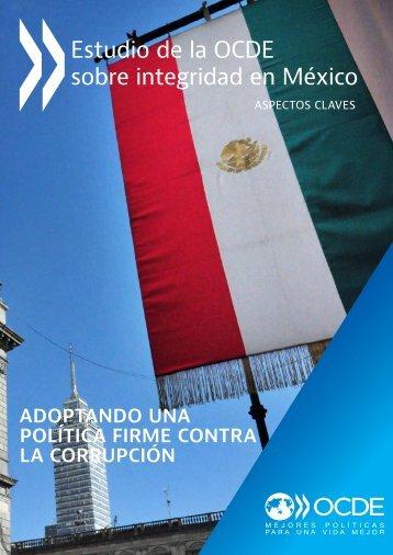 Estudio de la OCDE sobre integridad en México