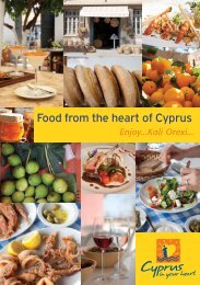 Food from the Heart of Cyprus