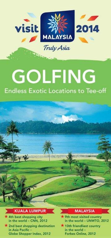 Golfing in Malaysia