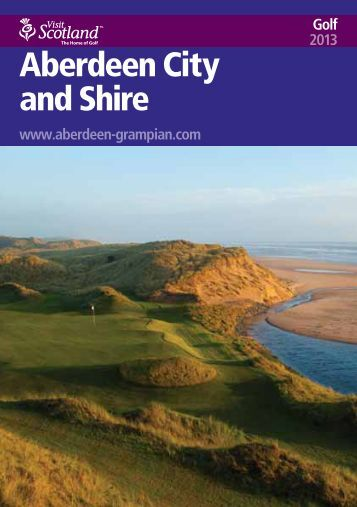 Aberdeen City and Shire - Golf 2013