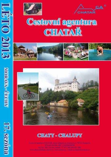 Chaty - Chalupy, Morava-Čechy