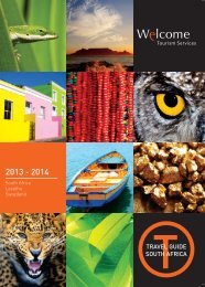 Travel Guide South Africa 2013-2014