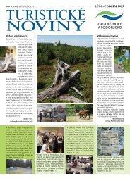 Turistické noviny Orlické hory Léto 2013