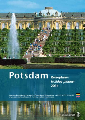 Potsdam Holiday Planner 2014